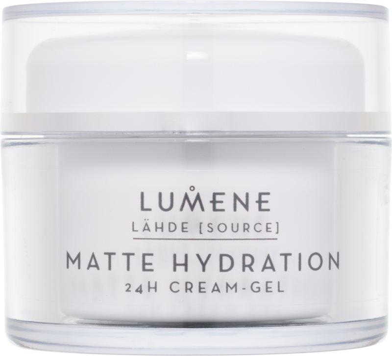 Lumene Lähde [Source of Hydratation] matirajoča vlažilna krema-gel 24 ur